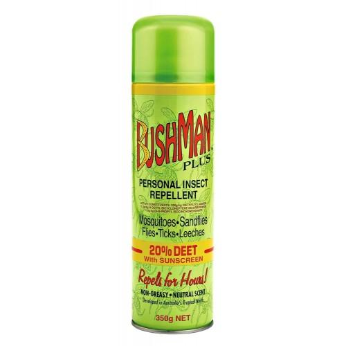 Bushman Insect Repellent 20% DEET 350gm Aerosol