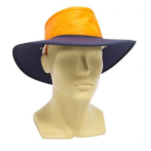 VisionSafe Nullarbor Micromesh Hi-Vis Two Tone Hat