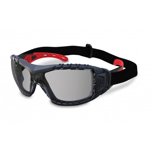 MaxiSafe Evolve Safety Glasses w/ Gasket & Strap