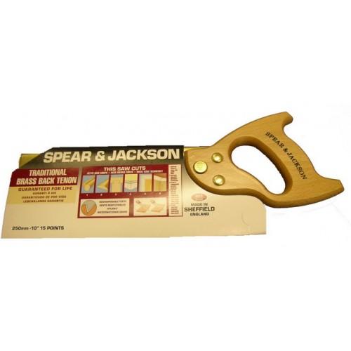 """Spear & Jackson Saw - Tenon - Workhorse - 250mm  - 10"""""""