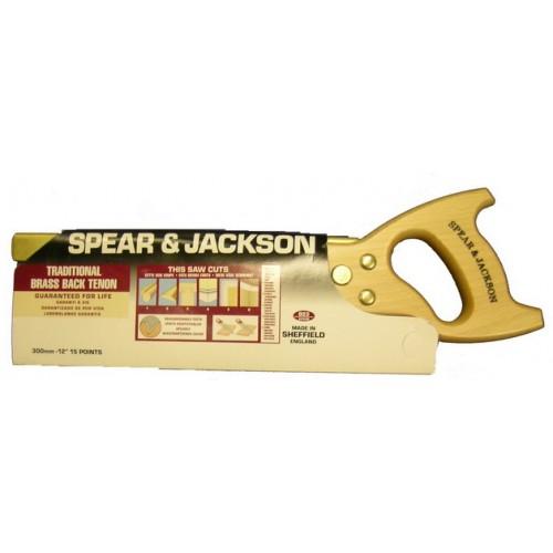 """Spear & Jackson Saw - Tenon - Workhorse - 300mm - 12"""""""