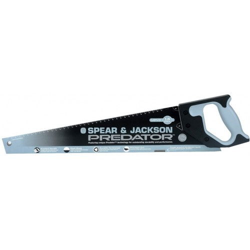 "Spear & Jackson Saw - Hardpoint - Upvc - 500mm  - 20"" - 14Ppi"