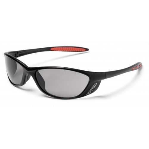 Eyres Cobra Matt Black Grey Lens Safety Glasses