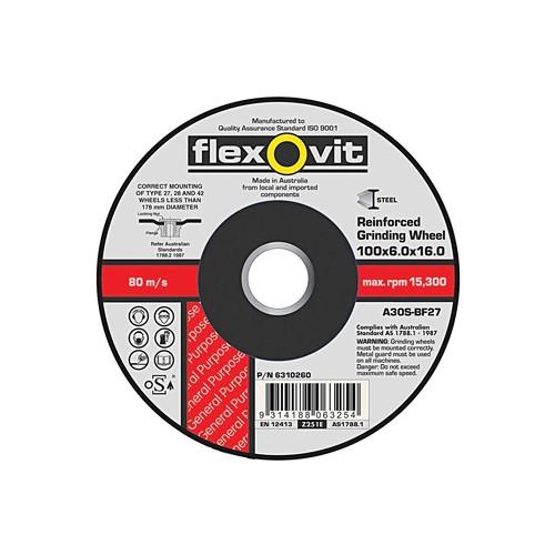 Flexovit 180 x 6.8 x 22 Iron Free Grinding Disc