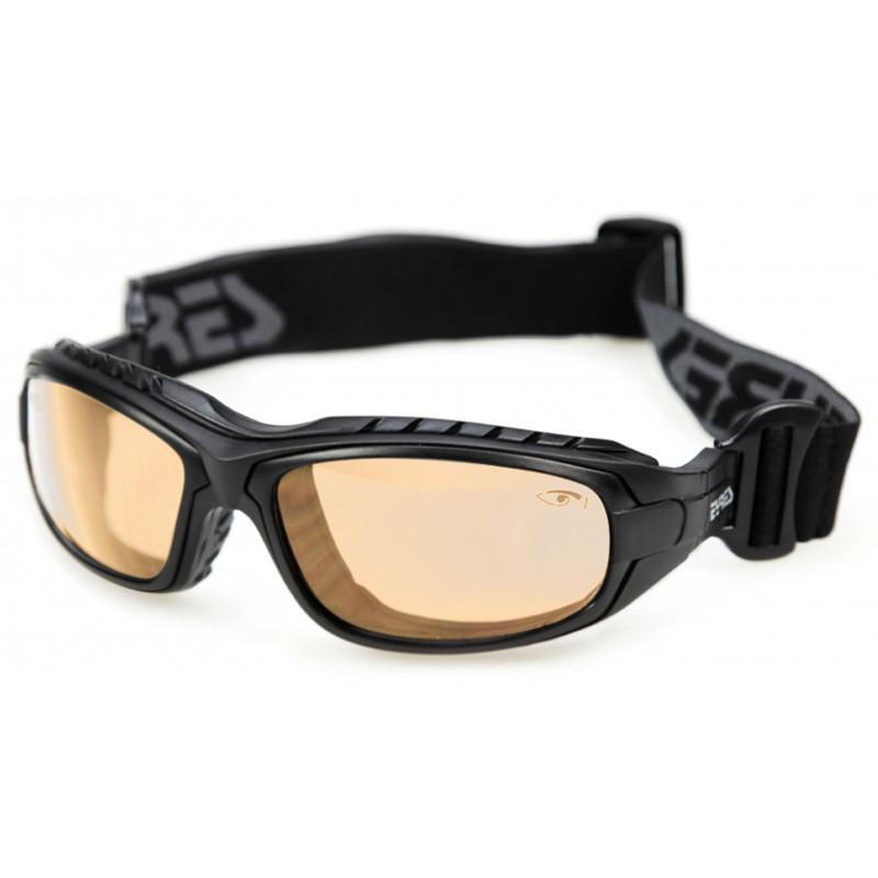 Eyres Oddie Matt Black Frame Wb50 Lens Safety Glasses