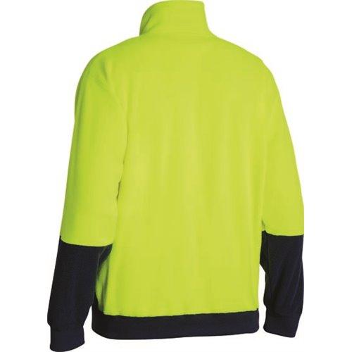 Bisley Hi-Vis PolarfleeceZip Pullover