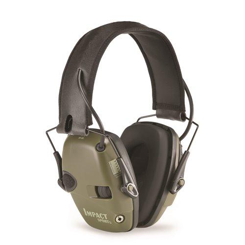 Honeywell Impact Sport Slimline Sound Amplification Earmuffs