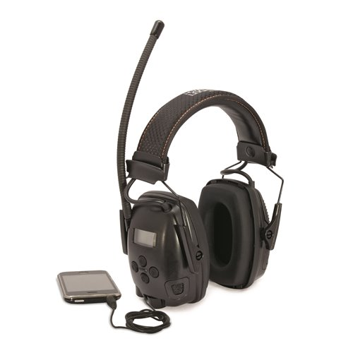 Honeywell SYNC Electro FM overhead earmuff Earmuffs