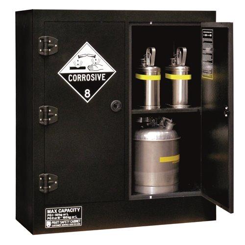 Pratt  Cabinet DG Corrosive Polyethylene 160L 1150 x 1000 x 600mm 4 Shelf