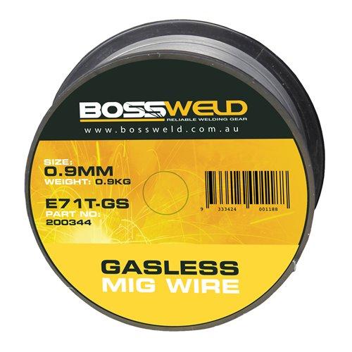 Bossweld Gasless GS MIG x 0.8mm x 0.9 kg