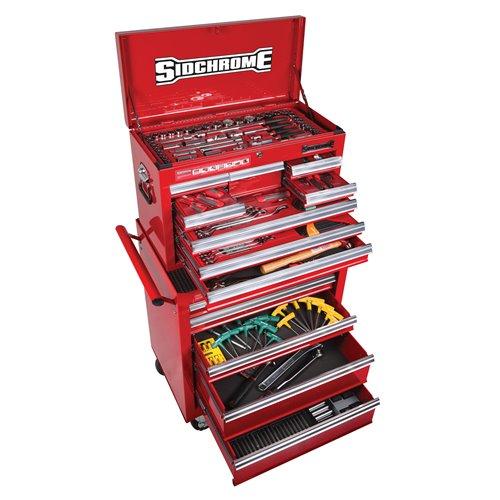 Sidchrome MET/AF 319pc Tool Kit