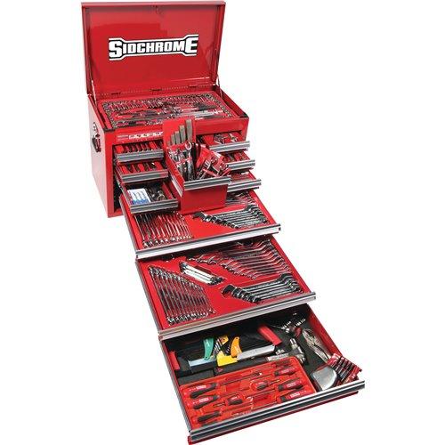 Sidchrome MET/AF 286pc Tool Kit