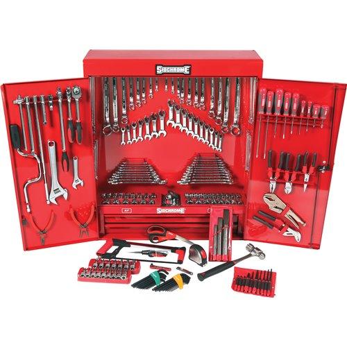 Sidchrome MET/AF 225pc Tool Cabinet