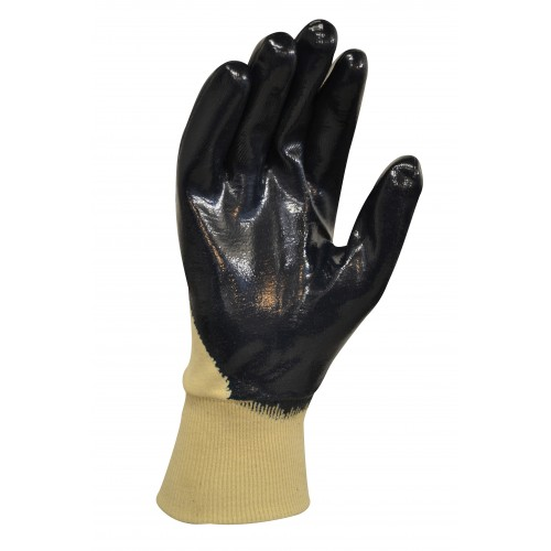 MaxiSafe Blue Knight Coated Nitrile Glove