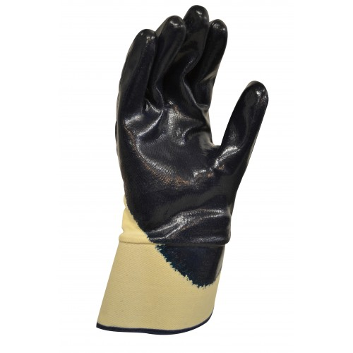 MaxiSafe Blue Knight Safety Cuff Nitrile Glove