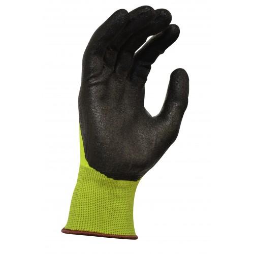 MaxiSafe Black Knight Gripmaster Hi-Vis Glove