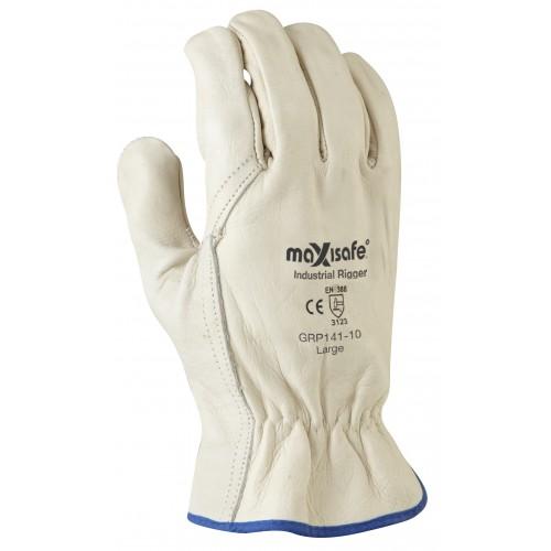 MaxiSafe Premium Beige Rigger Glove