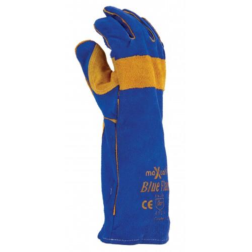 MaxiSafe Blue Flame Premium Kevlar Welders Glove