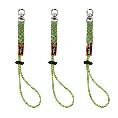 Ergodyne Squids 3713 29cm Lime Elastic Swivel Tool Tails
