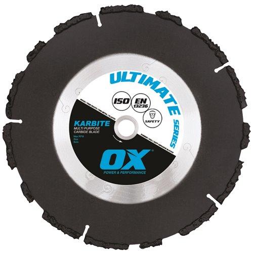 """OX Tools Ultimate UKB 4"""" Karbite Rippa Blade"""