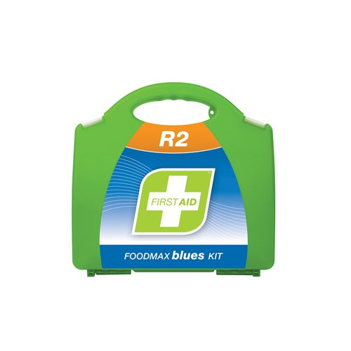 FastAid R2 Series Foodmax Blues Kit Plastic Portable First Aid Kit