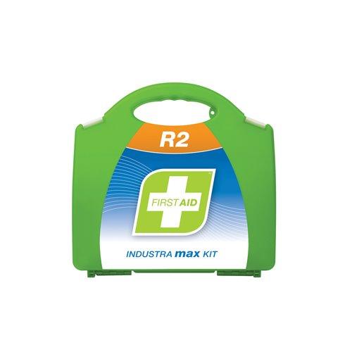 FastAid R2 Series Industra Max Kit Plastic Portable First Aid Kit