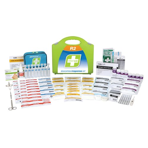 FastAid R2 Series Education Response Kit Plastic Portable First Aid Kit