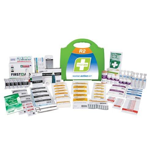 FastAid R2 Series Marine Action Kit Plastic Portable First Aid Kit