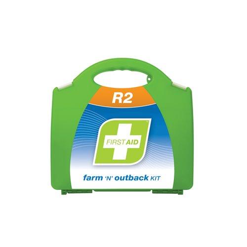 FastAid R2 Series Farm N Outback Kit Plastic Portable First Aid Kit