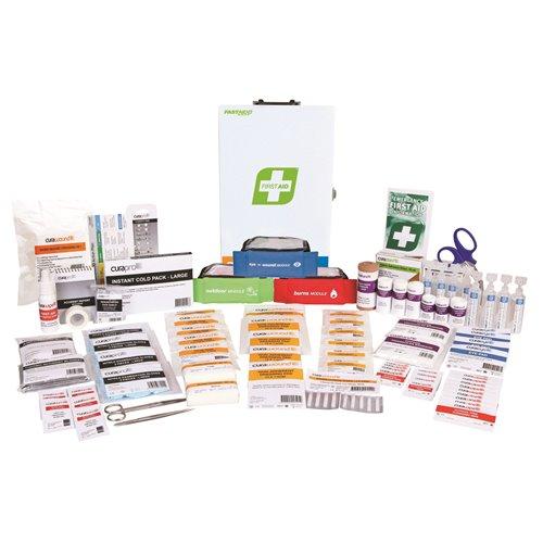 FastAid R2 Series Response Plus Kit Metal Wall Mount First Aid Kit