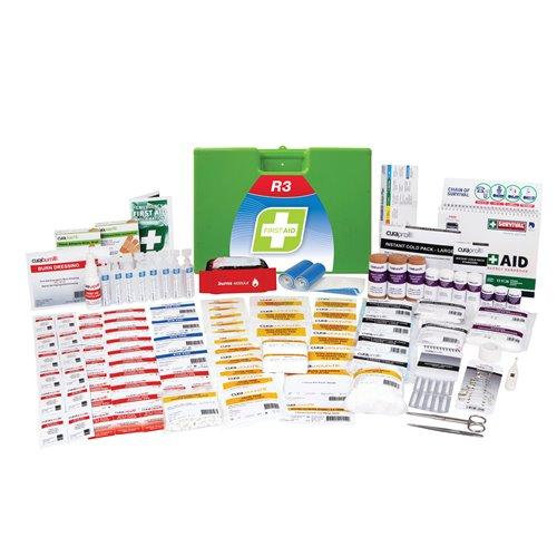 FastAid R3 Series Marine Pro Kit Plastic Portable First Aid Kit