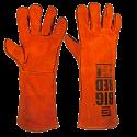 Elliotts Big Red Leather Welding Gloves