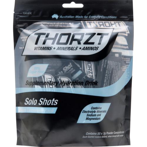 Thorzt Solo Shot 3gm Sugar Free Sachet - 50 Pack