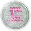 Moldex P2/P3 Filter Disks with Nuisance Organic Vapor for 7000 Series Half Mask & 9000 Series Full Face Respirators 1 Pair